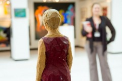 Christies Contemporary Art Viewing, South Kensington, London