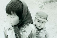 Brother & sister, Hohhot, Inner Mongolia, China