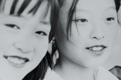 Two Girls, Quingdao, China