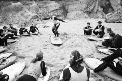 Surf Lesson, Cornwall, The Observer