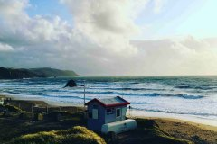 Lifeguard Hut Series, Widemouth Bay Cornwall