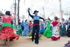 Male dancer, Feria Jerez de La Frontera, Spain