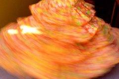 Whirling girl,  Feria Jerez de La Frontera, Spain