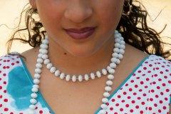 Young Girl and necklace, Feria Jerez de La Frontera, Spain