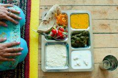 Lunch, Bristol Gurdwara, The Guardian