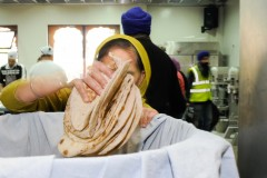 Chapati Carrier, Havelock Road Gurdwara, Southall, London, The Guardian