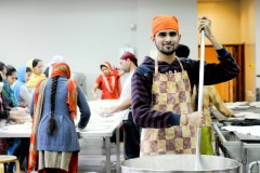 Volunteer Cook, Havelock Road Gurdwara, Southall, London The Guardian