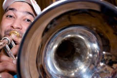Lewis Escolante, Trombonist, Simon Bolivar Youth Orchestra Rehearsals, The Guardian
