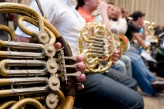 French Horns, Simon Bolivar Youth Orchestra Rehearsals, The Guardian
