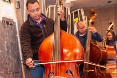 Double Bass Section, Simon Bolivar Youth Orchestra Rehearsals, The Guardian