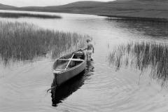 Boat & Boy, Borrobol, Scotland