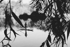 Paddle boarder, Thames Series
