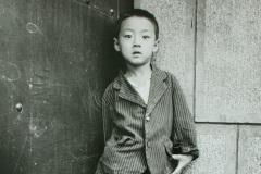 Boy in Doorway, Hohhot, Inner Mongolia, China