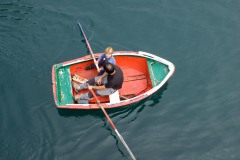 Boat, Elantxobe, Basque Country, Spain The Observer